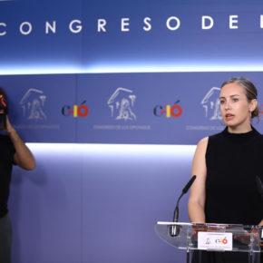 """Melisa Rodríguez: """"El modelo del PP y el PSOE sigue siendo el mismo: no querer afrontar los problemas de España como la precariedad laboral"""""""