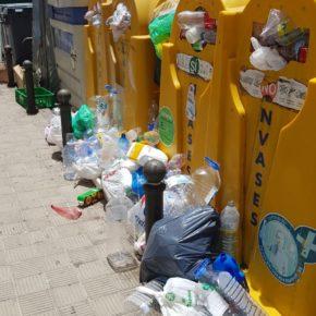 Cs pide al Ayuntamiento de Candelaria que aumente los servicios de recogida de basura e instale más contenedores en el municipio