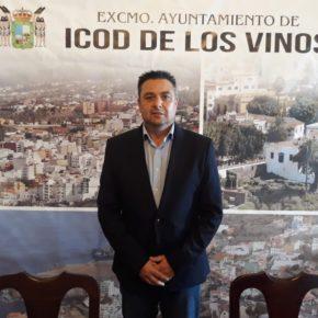 José Domingo Alonso repite comocandidatode Ciudadanos a la alcaldía de Icod de Los Vinos