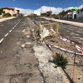 Ciudadanos exige al Ayuntamiento de El Paso que tome medidas urgentes para acondicionar la calle Carrero Blanco