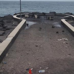 Ciudadanos pide que se elabore un plan de actuación para poner fin a las deficiencias del paseo marítimo de Breña Alta