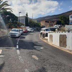 Cs exige al Ayuntamiento de El Rosario que solucione los problemas de visibilidad y señalización en el acceso a la calle Inglaterra