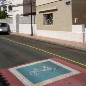 Cs pregunta al tripartito cuándo va a eliminar las plazas reservadas para los coche oficiales de las calles Lope de Vega y Federico de León