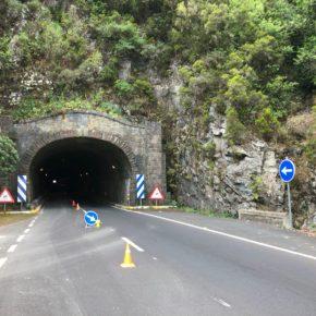 Cs denuncia la improvisación y falta de información en las obras de remodelación del túnel de la Cumbre de La Palma