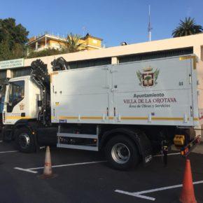 """Ciudadanos denuncia el """"gasto excesivo"""" por parte del Ayuntamiento de La Orotava en la compra de un camión grúa"""