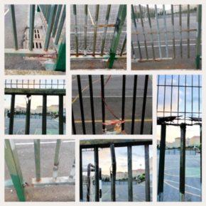 """Ciudadanos La Orotava denuncia """"el pésimo estado"""" en el que se encuentran las canchas deportivas del IES El Mayorazgo"""