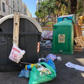 Ciudadanos denuncia que el Parque Narciso de Vera no cumple con las medidas mínimas de higiene