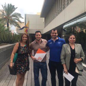 Ciudadanos pide al Gobierno de Canarias que no inicie las obras del muelle de Agaete hasta contar con nuevos informes