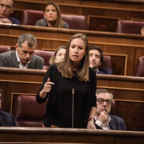 """Melisa Rodríguez: """"El Gobierno lamentablemente no está haciendo nada en Venezuela y espero que no sea para proteger a Zapatero"""""""