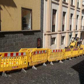 """Ciudadanos denuncia """"la falta de información"""" por parte del consistorio de las obras de remodelación en la calle Tomás Zerolo"""