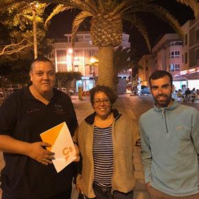 Cs pide al equipo de gobierno de Tuineje que aumente las políticas municipales de atención a los mayores