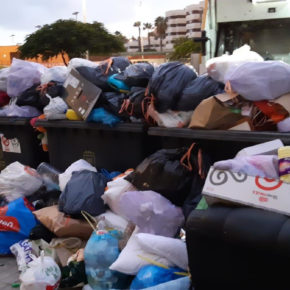 Ciudadanos exige a Hidalgo que adopte medidas urgentes para acabar con la falta de limpieza en Las Palmas de Gran Canaria