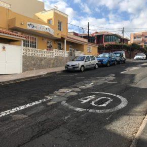 Ciudadanos exige a CC y PP que acondicionen la calle Obispo Pérez Cáceres en San Isidro