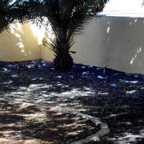 Ciudadanos denuncia que CC y PP tienen abandonada la Plaza de Los Cardones (Granadilla de Abona)