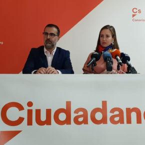 """Melisa Rodríguez (Cs): """"El PSOE ha demostrado su desinterés con Canarias al incumplir los acuerdos que tenía con el archipiélago"""""""