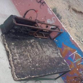 Ciudadanos denuncia el estado de abandono en el que se encuentra el 'Skate Park' de El Médano