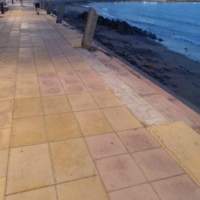 Ciudadanos urge al Ayuntamiento de Agüimes a acondicionar la Avenida de Los Pescadores de Arinaga