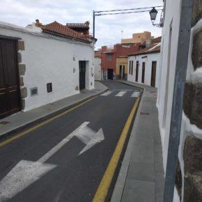 Cs exige al Ayuntamiento de San Juan de La Rambla que mejore la señalética y garantice la seguridad en la calle Antonio Oramas