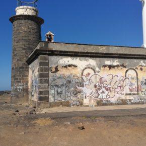 Cs Yaiza denuncia la situación de abandono en la que se encuentra el Faro de Pechiguera