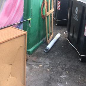 Cs denuncia que el servicio de recogida de basura en los barrios de San Cristóbal de La Laguna es deficiente