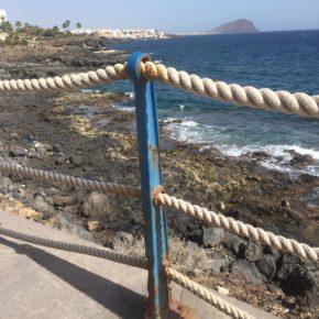 Ciudadanos exige a CC y PSOE que acondicione urgentemente la costa de San Miguel de Abona