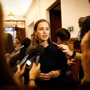 """Melisa Rodríguez (Cs): """"La reacción de Sánchez de reconocer a Guaidó como presidente de Venezuela llega tarde y mal"""""""