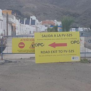 Ciudadanos exige el Ayuntamiento de Tuineje una explicación sobre la paralización de las obras de la avenida de Giniginámar