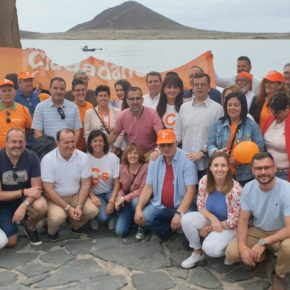 """Melisa Rodríguez (Cs): """"Ciudadanos implantará un plan de reconversión de los destinos turísticos en Canarias"""""""
