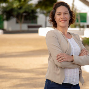 Yakira Curbelo encabezará la lista de Ciudadanos a la alcaldía del Ayuntamiento de Tinajo