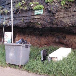 Ciudadanos Tegueste denuncia el abandono en el que se encuentra el camino de Blas Núñez