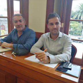 Cs pide explicaciones sobre la devolución de una subvención por no ejecutarse la obra de la zona comercial abierta de Arucas