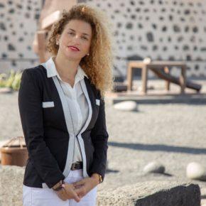 """Noemí Ramírez: """"Lanzarote necesita planificar su sostenibilidad urgentemente"""""""