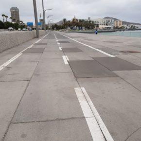 Ciudadanos denuncia la mala calidad de la obra del Parque Marítimo de Santa Catalina