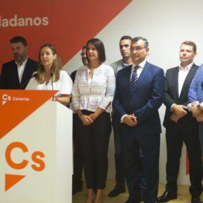 """Rodríguez: """"Ciudadanos ha demostrado con hechos y no con palabras que puede defender los intereses de Canarias"""""""