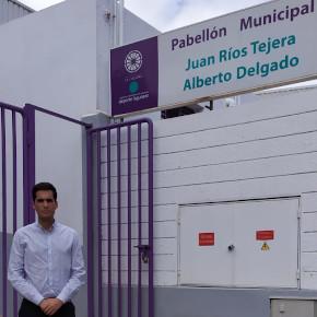 Ciudadanos denuncia el mal estado en el que se encuentra el pabellón Juan Ríos Tejera
