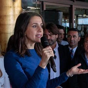 """Arrimadas: """"El único partido que nunca ha cedido al nacionalismo y siempre ha luchado por la igualdad de oportunidades es Ciudadanos"""""""