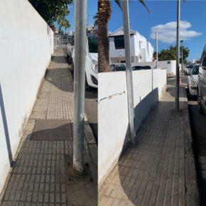 Cs reclama al PSOE un plan para acabar definitivamente con las barreras arquitectónicas en San Bartolomé