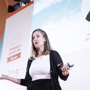 """Melisa Rodríguez participa este jueves en la campaña nacional de jóvenes de """"un día con…"""""""