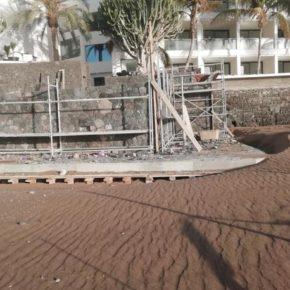 Cs pide que se publiquen los expedientes sobre la autorización de construcción de la pasarela de hormigón en Playa Grande y Playa Chica