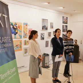 Rivero presenta Merkarte que abre mañana con obras de 31 jóvenes artistas de Tenerife a la venta