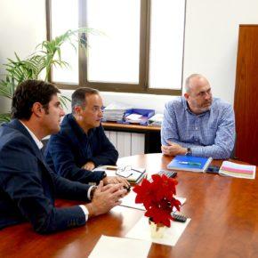 """Arriaga: """"Hemos acordado el plan de mantenimiento de zonas ajardinadas en Santiago del Teide"""""""