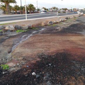 Ciudadanos urge a solucionar de una vez por todas los constantes vertidos de aguas fecales en Playa Blanca