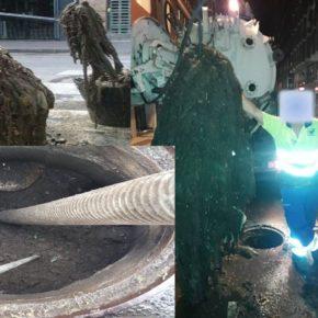Ciudadanos denuncia el mal estado de la canalización y la falta de mantenimiento de la red de alcantarillado de la capital