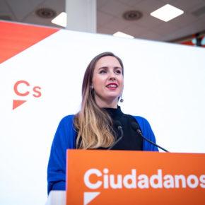 Melisa Rodríguez toma posesión como portavoz nacional de la nueva Ejecutiva de Cs