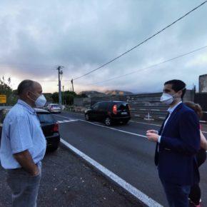 Ciudadanos pide que se acondicione el acceso peatonal a San Bartolomé de Geneto