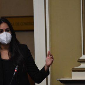 Vidina Espino asegura que el Gobierno canario llega tarde y mal a realizar los test de coronavirus en puertos y aeropuertos