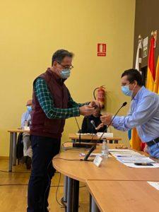 Anselmo León toma posesión del acta como nuevo concejal de Ciudadanos en Arucas