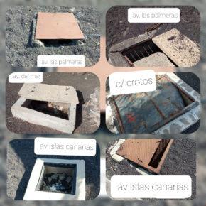 Ciudadanos exige que se arreglen los desperfectos en jardines y calles de Costa Teguise