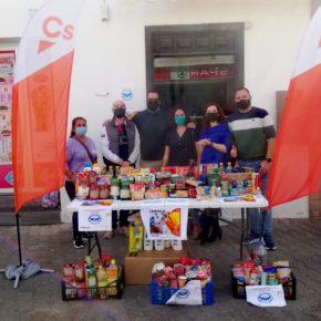 Ciudadanos celebra el éxito de la recogida solidaria de alimentos en Playa Blanca y agradece a los lanzaroteños su participación