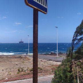 Ciudadanos pide mejoras en la señalética y seguridad vial de Pelada, en El Médano